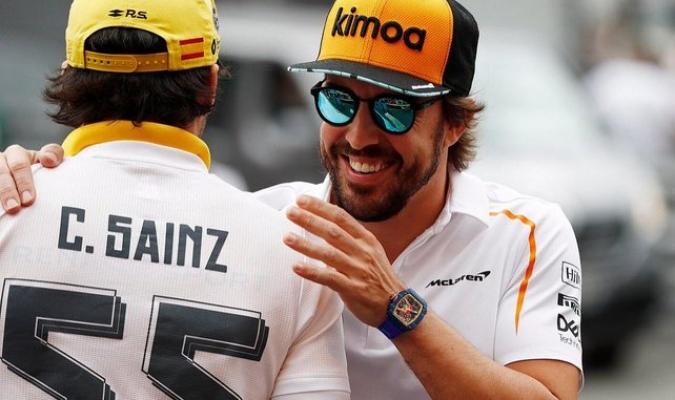 Sainz repasó la actualidas de Alonso en los raids / Foto: Cortesía