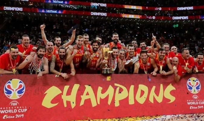 La selección española se impuso en la cita mundialista al vencer a Argentina en la final/ Fotos EFE