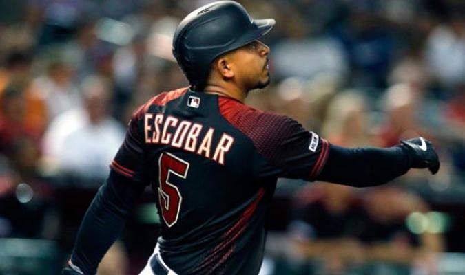 Escobar la sacó en el sexto inning / Foto: Cortesía