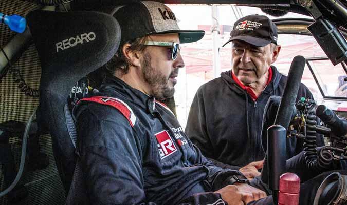 El asturiano se prepara para competir en el Rally Dakar l Foto: Cortesía