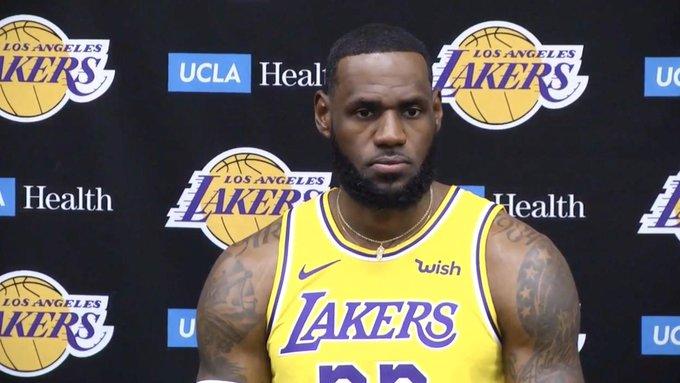 James llegó a Lakers en 2018 / Foto: Cortesía