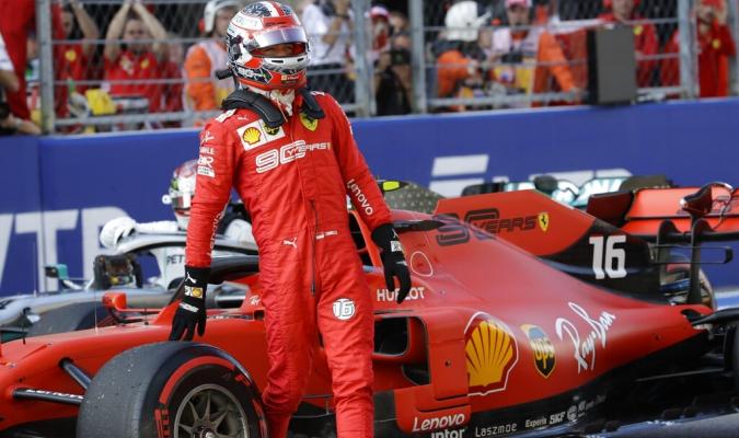 Leclerc largará primero en Sochi / Foto: AP