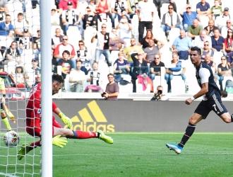 Cristiano marcó el tercer gol de la temporada / Foto: AP