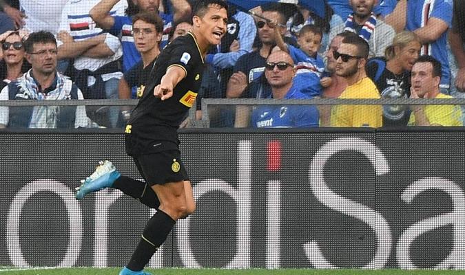 Sánchez aportó un tanto al cuadro nerazzurro / Foto: Cortesía EFE