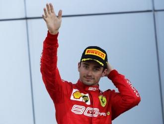 Leclerc finalizó tercero en Sochi / Foto: AP