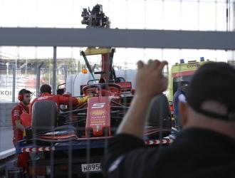 Vettel tuvo una falla en su coche / Foto: Cortesía
