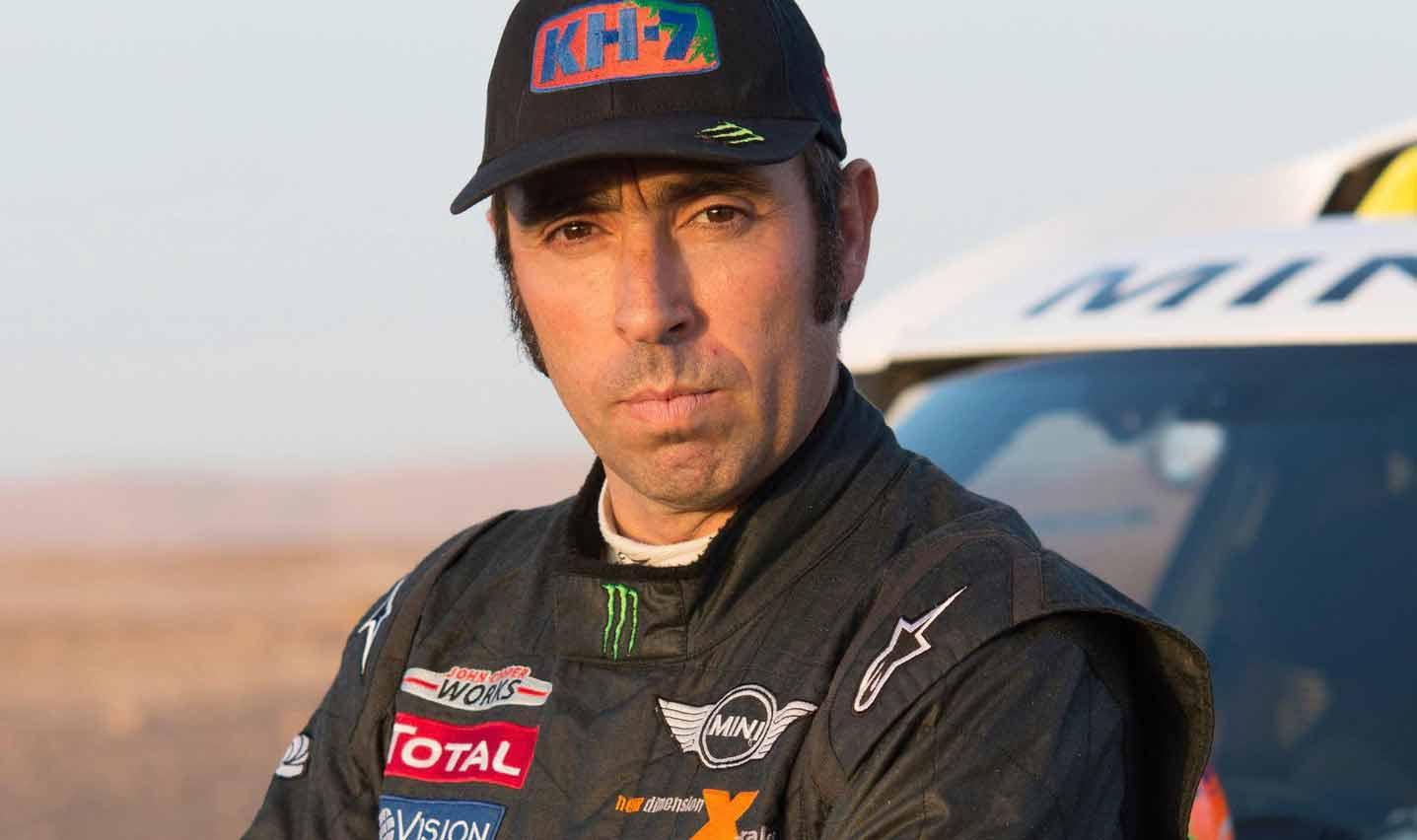 Nani Roma es el piloto del Borgward Rally Team / Foto: Cortesía