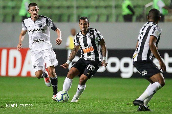 Otero ha marcado en sus últimos dos juegos / Foto: Atlético Mineiro