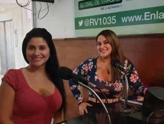 Las hermanas Gómez conducen el programa / Foto: Cortesía