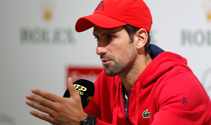 Djokovic defiende el título en Shanghái/ Foto AP