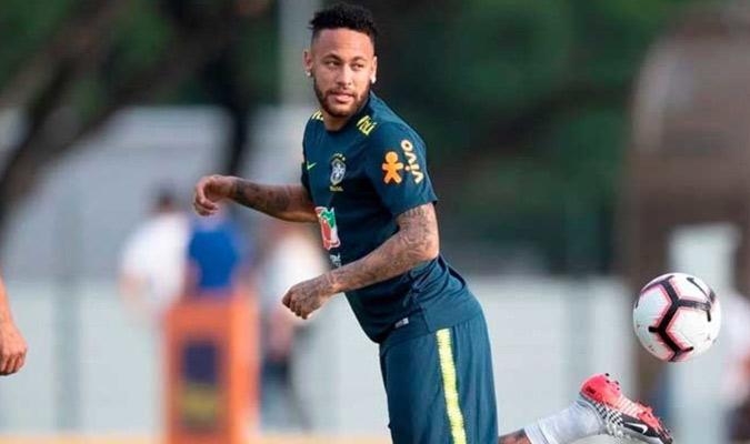 Neymar es la máxima figura de Brasil/ Foto Cortesía