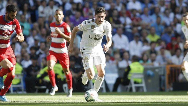 Valverde jugó completo ante Granada / Foto: Cortesía