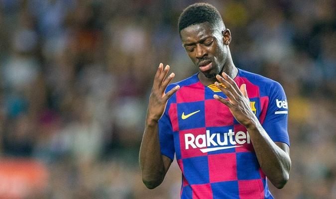 Dembelé no podrá jugar el duelo ante el Madrid / Foto: Cortesía
