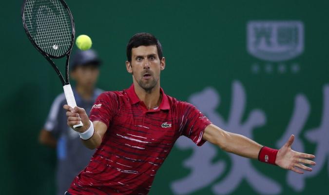 Djokovic debutó a lo grande en Shanghái / Foto: Cortesía
