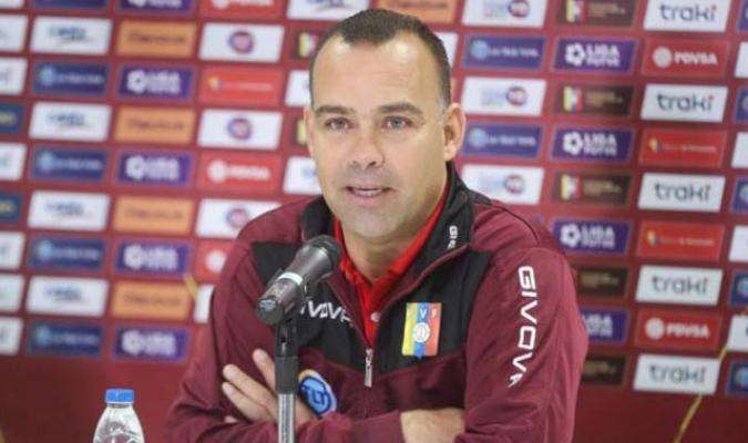 El entrenador ofreció una rueda de prensa en el estadio Olímpico de la UCV l Foto: Cortesía