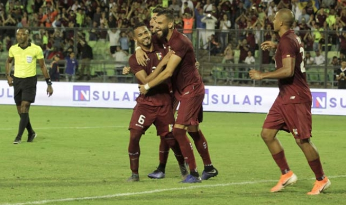 La selección goleó a los bolivianos/ Fotos César Suárez