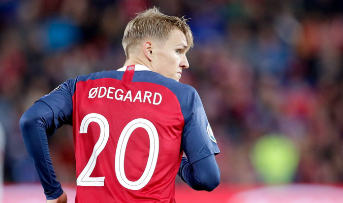 Odegaard se mostró contrariado al término del encuentro / Foto: Cortesía