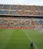 Aficionados colombianos provocaron altercados / Foto: Cortesía