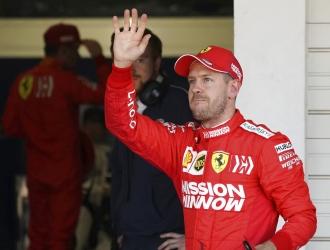Vettel acabó en la segunda posición en Japón / Foto: AP