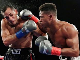 Day durante una pelea ante Ayala / Foto: AP