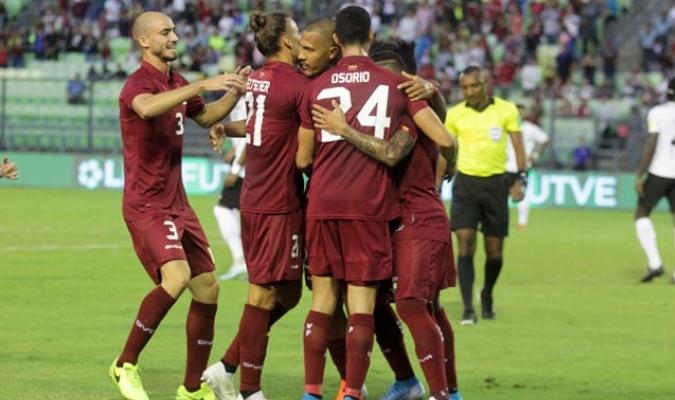 El seleccionado criollo, tras vencer a Bolivia, consiguió derrotar a Trinidad y Tobago por 2-0/ Fotos César Suárez