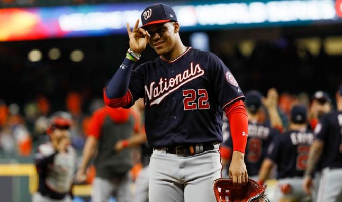 El conjunto de Washington gana con autoridad el segundo ante los Astros/ Fotos AP