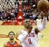 Westbrook sumó 28 puntos y 13 asistencias / Foto: AP