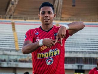 Celis es el referente ofensivo del Caracas || Foto: Caracas FC
