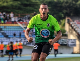 Hernández pudo anotar en el compromiso / Foto: Zamora FC
