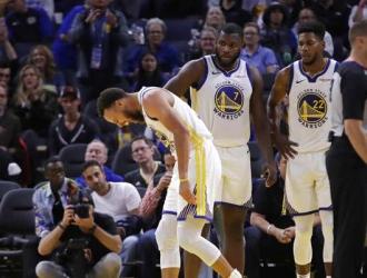 Curry fue operado el viernes en la mañana/ Foto: AP