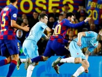 El Barça no puede con Slavia en su casa /  Foto: Cortesía EFE