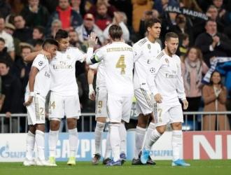 El Madrid se adelantó rápido en el marcador/ Foto AP
