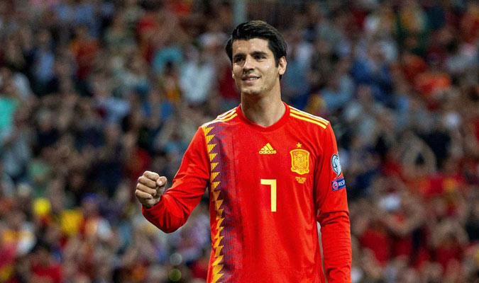 Los goles con el Atleti ayudaron a Morata/ Foto Cortesía