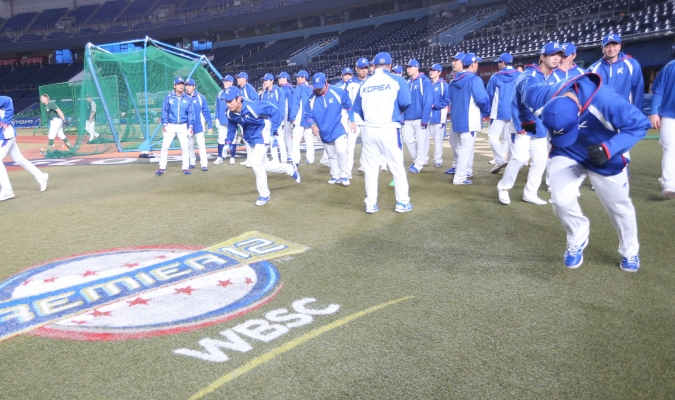 Corea sacó ventaja en la primera entrada / Foto: Cortesía (@Premier12)