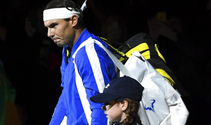 Nadal cayó en su debut en las finales ATP / Foto: AP