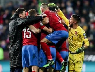 Los checos lograron un triunfo vital / Foto: EFE