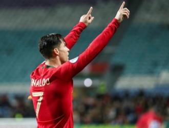El luso anotó hat-trick / Foto: EFE