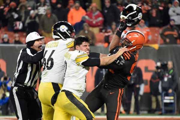 La liga multó a Steelers y Browns con 250.000 dólares/ Foto: Cortesía