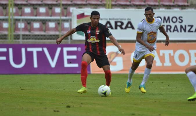 Castillo anotó por partida doble || Foto: Deportivo Lara