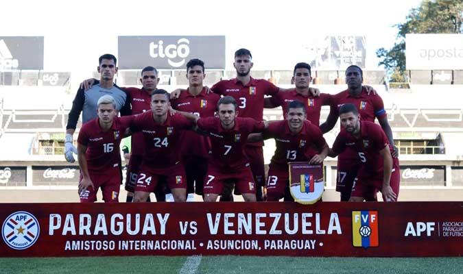 Los venezolanos no pudieron sacar un resultado positivo / Foto: FVF