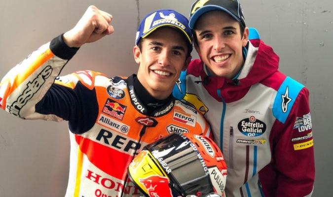 Los hermanos Márquez compartirán en Honda / Foto: Cortesía