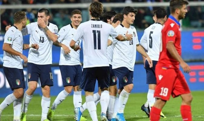 Italia continúa invicto en el clasificatorio a la EURO / Foto: Cortesía