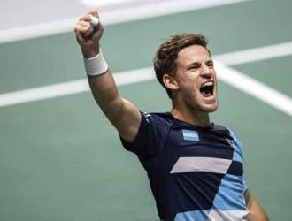 La Copa Davis se lleva a cabo en Madrid, España/ Foto: AP