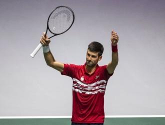 Djokovic ganó con solvencia a Benoit Paire / Foto: AP