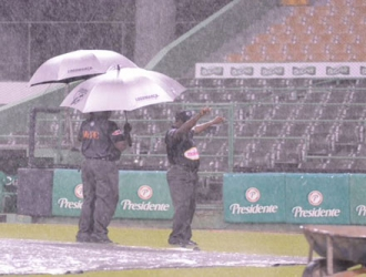 Van dos días seguidos que la lluvia no deja jugar el compromiso / Foto: Cortesía