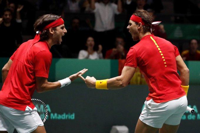 España ganó en dos sets / Foto: Cortesía
