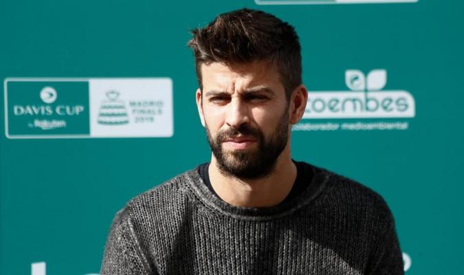 Piqué evaluó el desempeño de la Copa Davis / Foto: Cortesía