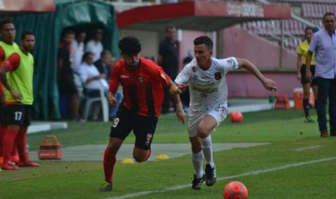 El partido se disputa en el estadio Metropolitano de Cabudare l Foto: Cortesía