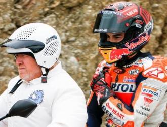A Márquez se le salió uno de sus hombros / Foto: Cortesía