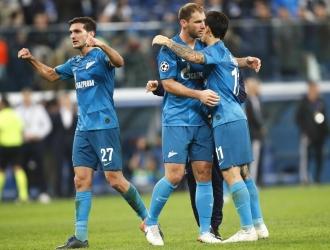 Zenit no perdió el chance de pasar a octavos /  Foto: AP